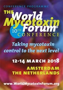 World Mycotoxin Forum, Amsterdam NL 12-14 March 2018 Image